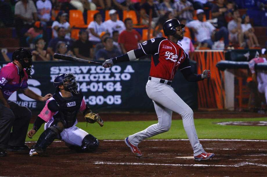 Domonic Brown and the Tecolotes Dos Laredos host Tigres de Quintana Roo at 7 p.m. Tuesday at Uni-Trade Stadium. Photo: Courtesy Of The Tecolotes Dos Laredos