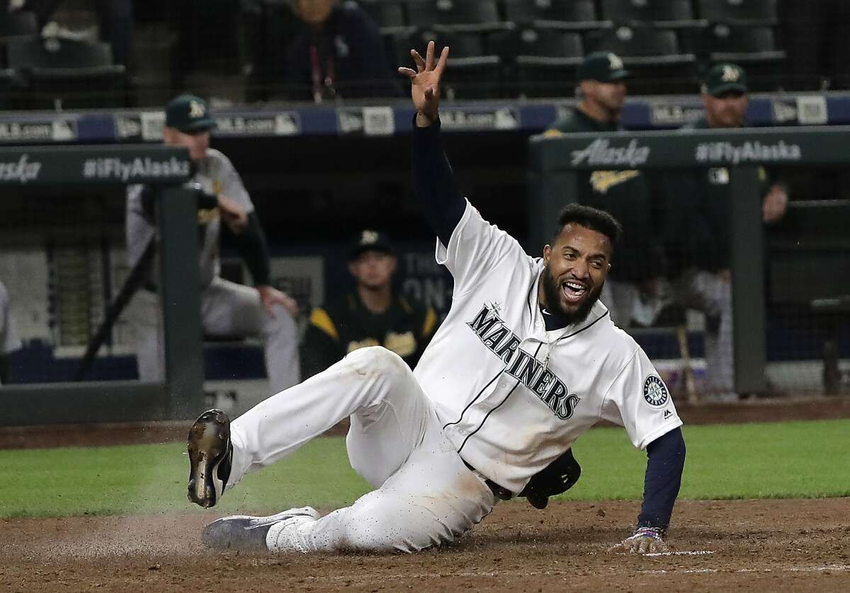 Record: 22-23 The long road trip to Boston, New York and Cleveland was not kind to the Mariners. Seattle lost eight of the ten games, including a sweep at the hands of the Red Sox. On the bright side, they did sweep the Athletics in a two-game series to get back to just a game under .500.
