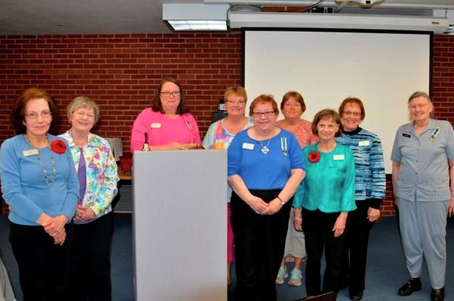 Members of theJohn Alden Chapter of the Daughters of the American Revolution recently conducted their last meeting of the program year. (Photo provided)