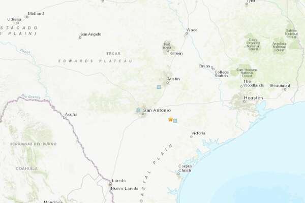 Gonzales County Texas Map, 1of16a 3 1 Magnitude Earthquake Was Recorded A Few Miles From Smiley Texas Tuesday Morning Photo Usgs National Earthquake Information Center, Gonzales County Texas Map