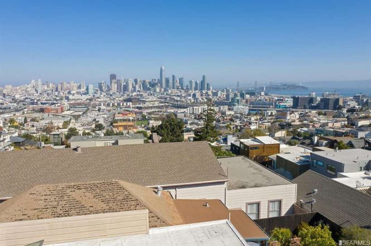 A 640-square-foot dwelling at 863 Carolina St. in San Francisco's Potrero Hill sold for $1.975 million. Architectural drawings show the future potential for the property.