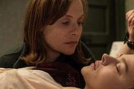 """Isabelle Huppert (left) keeps an eye on Chloe Grace Moretz in """"Greta."""""""