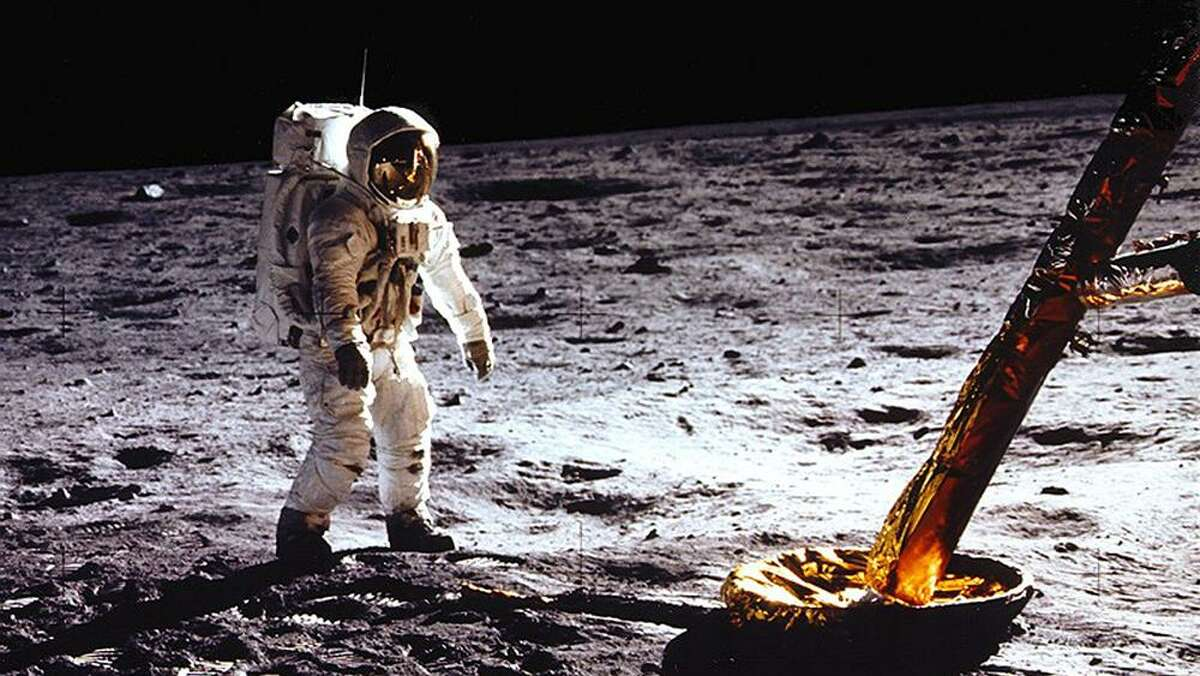 """""""Apollo 11"""" documents the first moon landing using vintage film and audio from NASA."""