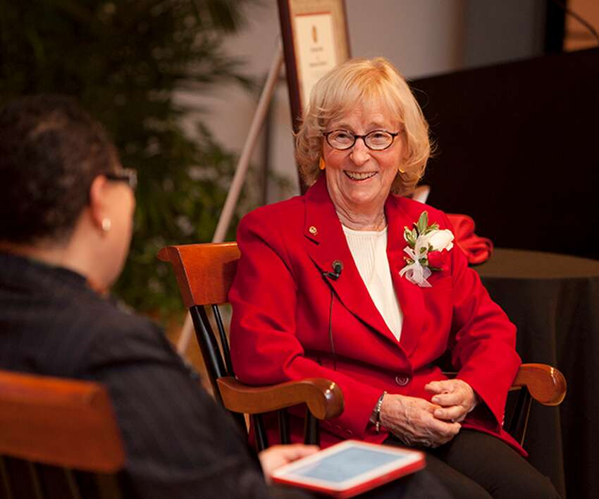 Rensselaer Polytechnic Institute will name its Admissions Building for Nancy Deloye Fitzroy (Class of 1949), the first woman to graduate from the school with a chemical engineering degree, and her husband and fellow engineer, the late Roland V. Fitzroy Jr.