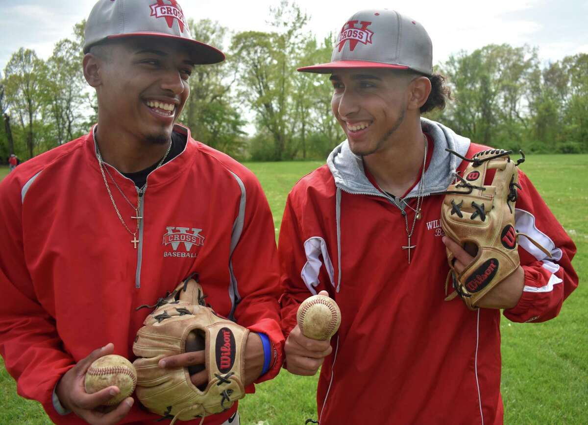 Andrew Marrero and Angel Gilandez have formed a friendship that has helped translates to wins on the baseball field for Wilbur Cross.