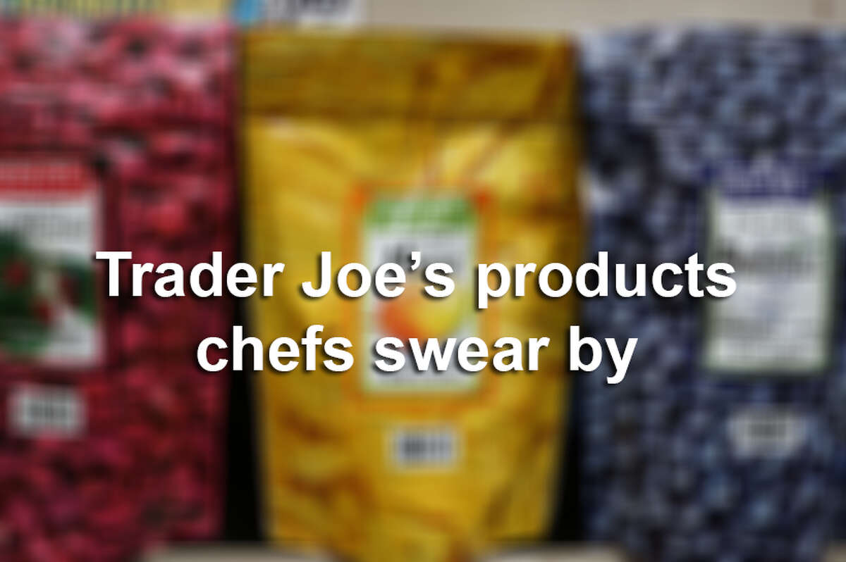 Trader Joe's products that professional chefs swear by.