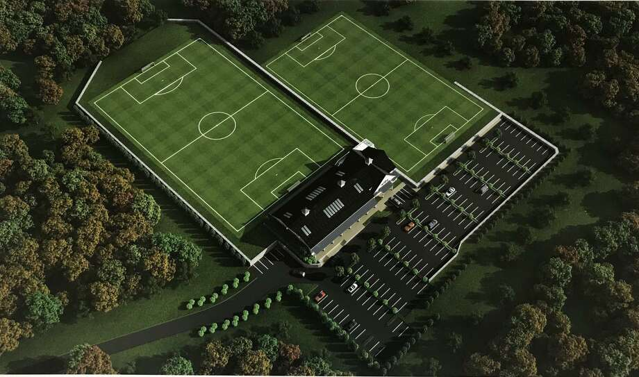 A preliminary image of the proposed soccer club at the current Long Ridge Swim & Tennis Club. Photo: Contributed Photo / Stamford Advocate Contributed