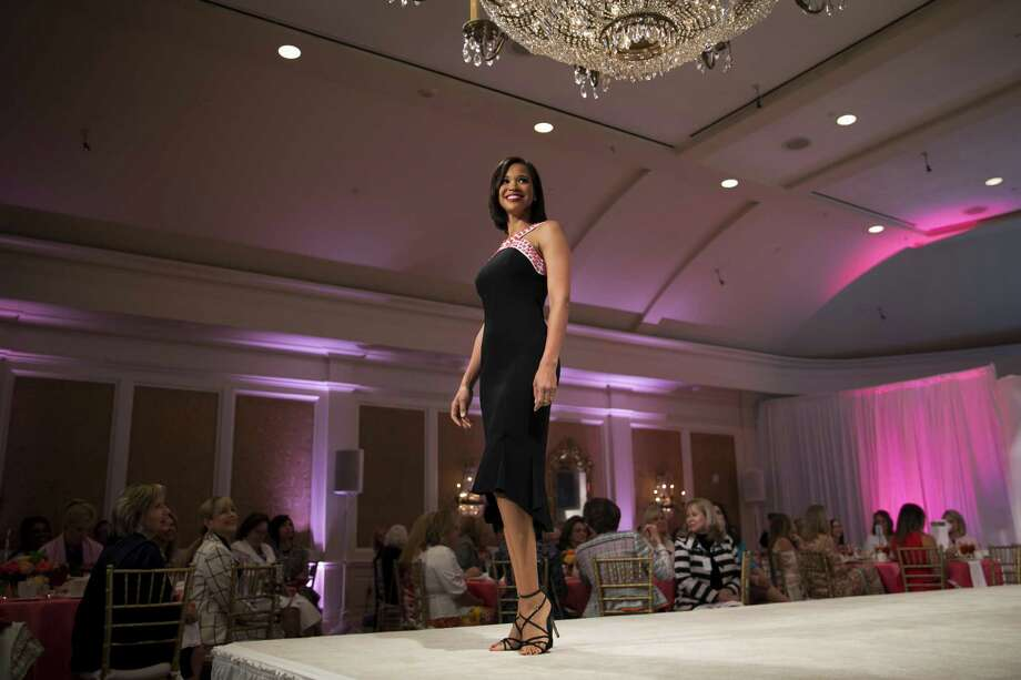 Mia Gradney during Star of Hope's annual fashion show and luncheon on Friday, May 10, 2019. Photo: Annie Mulligan, Freelance