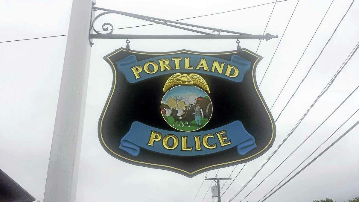 Cassandra Day - The Middletown Press ¬ Portland Town Hall, Police, Community Senior Center Main Street