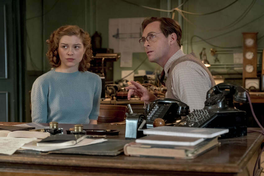 Sophie Cookson, left, and Stephen Campbell Moore star in