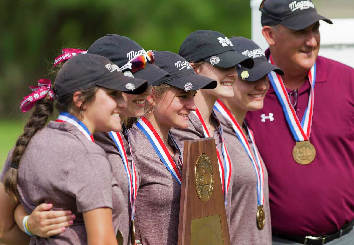Magnolia finished third overall during the Class 5A UIL State Golf Championships at White Wing Golf Club, May, 11, 2019, in Georgetown.