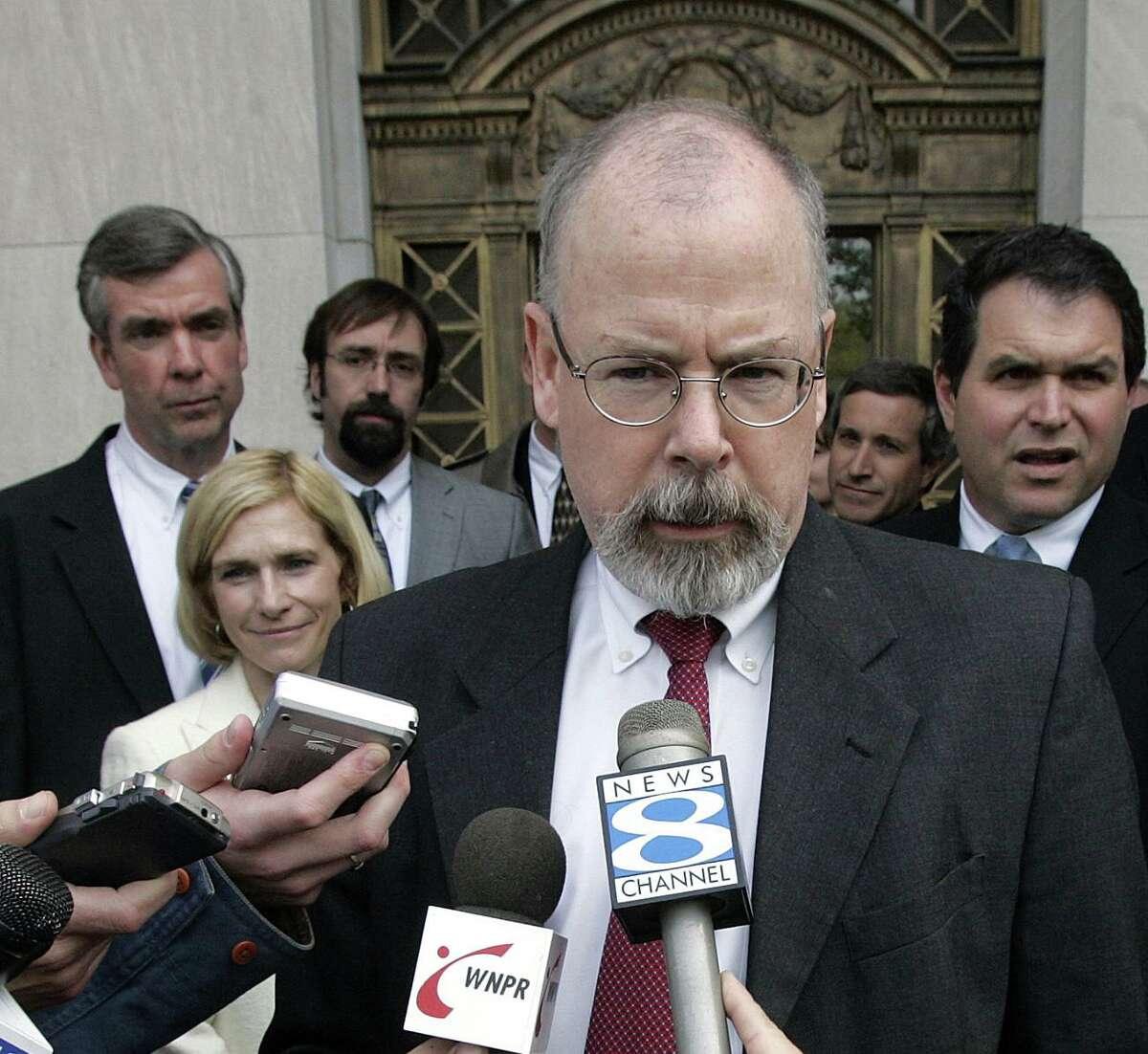 US attorney John Durham
