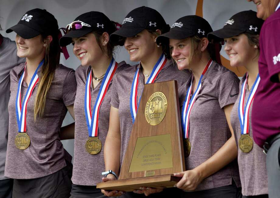 Magnolia finished third overall during the Class 5A UIL State Golf Championships at White Wing Golf Club, May, 11, 2019, in Georgetown. Photo: Jason Fochtman, Houston Chronicle / Staff Photographer / © 2019 Houston Chronicle