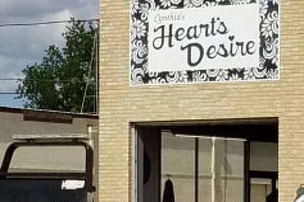 A vehicle crashed into Heart's Desire on Monday afternoon.