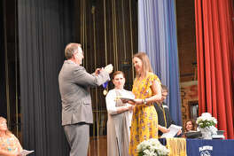 Jesse Long was named valedictorian at the Plainview Scholarship and Awards Assembly on Monday.