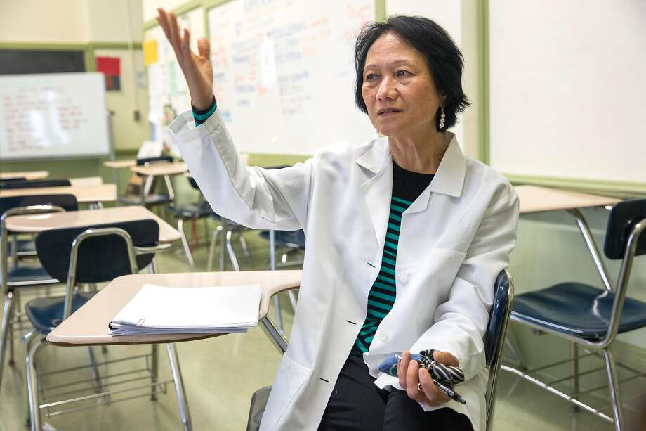 "City College of San Francisco records show that nursing instructor Procerpina Gee is owed more than $200,000 for time worked. She doesn't feel gleeful, though, because ""it shows something's not right."" Photo: Jana Asenbrennerova / Special To The Chronicle"