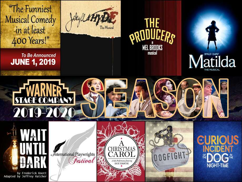 The Warner Stage Company recently announced its season of shows for 2019-20. Photo: Contributed Photo