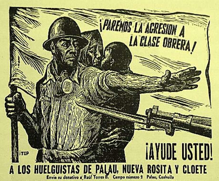 Cartel de solidaridad Photo: Foto De Cortesía