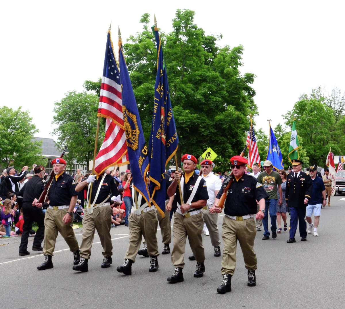 New Milford held its annual Memorial Day parade on May 28, 2018.