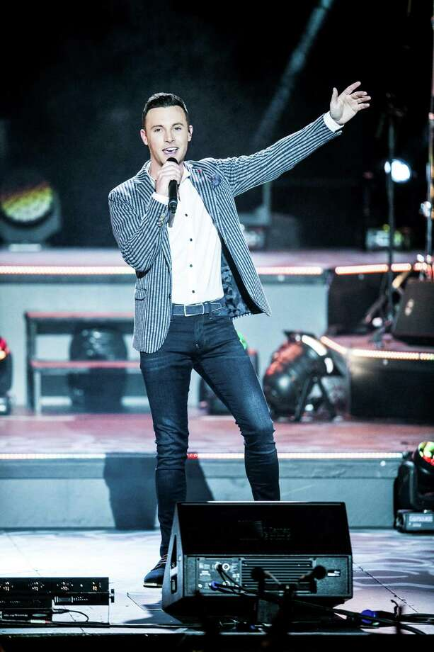 Nathan Carter on stage. Photo: Jean Clancy / Contributed Photo