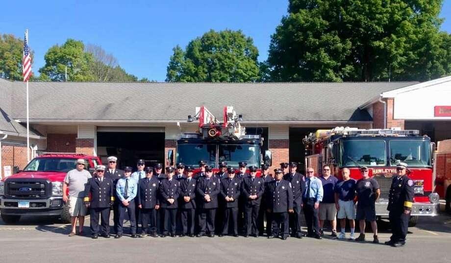 The Hawleyville Volunteer Fire Company in 2018. Photo: Hawleyville Volunteer Fire Company #1 / Facebook