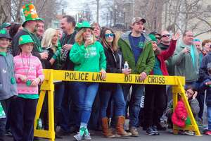 Scenes and faces from the Greater Bridgeport St. Patrick's Day Parade, in downtown Bridgeport, Conn. March 15, 2019. Nominations for the 2020 Grand Marshal of the Greater Bridgeport St. Patrick's Day Celebration are being sought, and are due June 14, 2019.