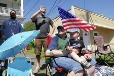 The West Haven Memorial Day parade on Campbell Avenue in West Haven.