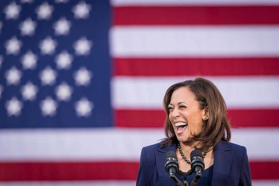 Sen. Kamala Harris, D-Calif., during an event in Oakland, Calif., to launch presidential campaign on Jan. 27, 2019. Photo: Bloomberg Photo By David Paul Morris. / © 2019 Bloomberg Finance LP
