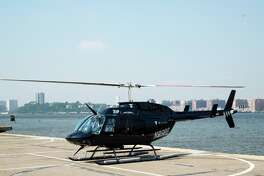 A Bell 206 Ranger similar to the one used for Blade's Bay Area flights