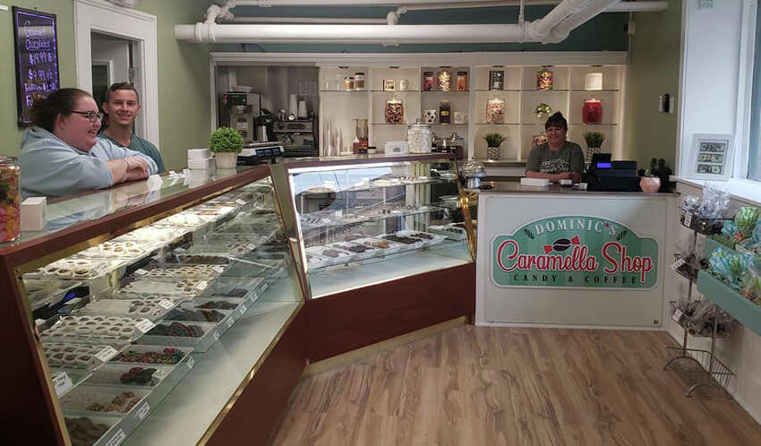 Dominic's Caramella Shop in Albany.