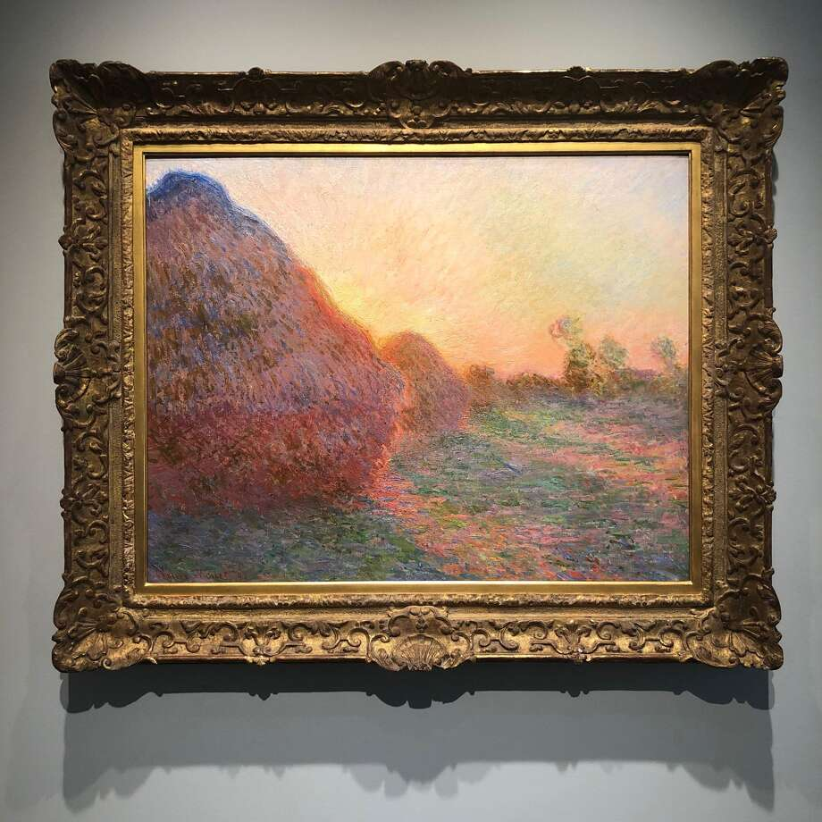"""Les Meules"" by Claude Monet Photo: Bloomberg Photo By Katya Kazakina / Bloomberg"