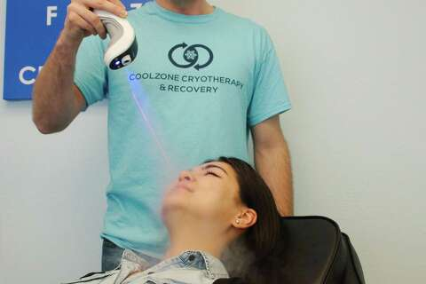 Webster cryotherapy business offers deep-freeze treatments
