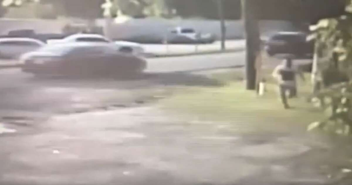 Houston police believe this man is a suspect in a fatal shooting at Keith-Wiess Park on Tuesday, May 14, 2019. Police released the surveillance images Wednesday.