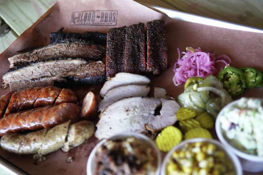 Blood Bros. BBQ Take-out available Wednesday through Sunday from 11 a.m. to 3 p.m. or until the kitchen runs out. Expect dishes made with Chinese and Vietnamese flavors at Blood Bros. Highlights on the menu include pork ribs, homemade sausage made with jalapeño cheddar and black pepper, brisket and pork ribs, all sold by the pound. Orders must be placed with 48 hours notice. 5425 Bellaire Blvd. 713-664-7776