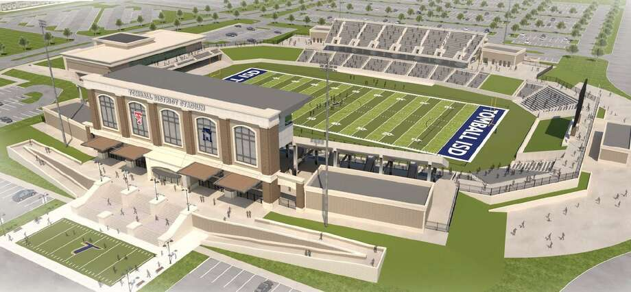 Tomball ISD is seeking to build a new stadium as part of its $275 million bond, which was approved by voters in 2017. Photo: Courtesy Of Tomball ISD