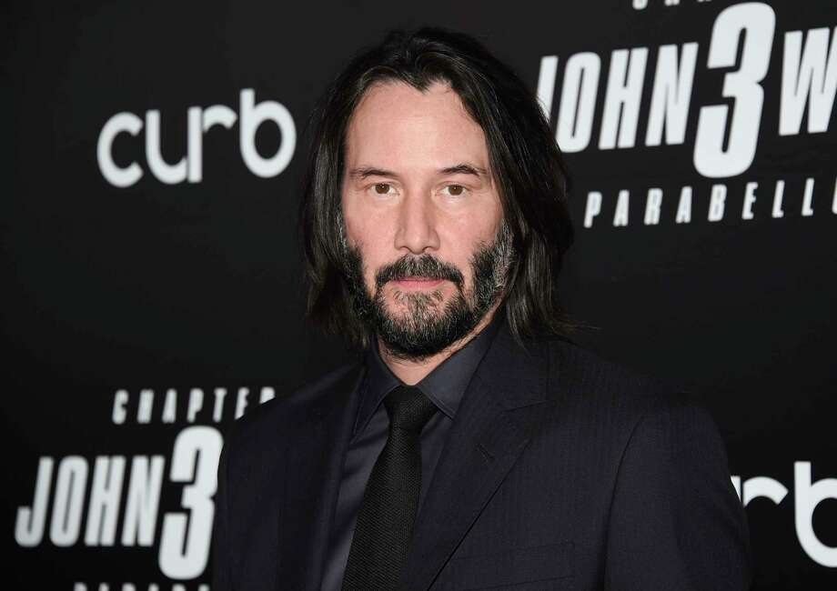 "Actor Keanu Reeves attends the world premiere of ""John Wick: Chapter 3 - Parabellum"" at One Hanson on Thursday, May 9, 2019, in New York. The actor has been experiencing a renaissance of sorts, as fans have dubbed him ""the internet's boyfriend"" and are now petitioning for the actor to become Person of the Year from Time Magazine. Photo: Evan Agostini / 2019 Invision"