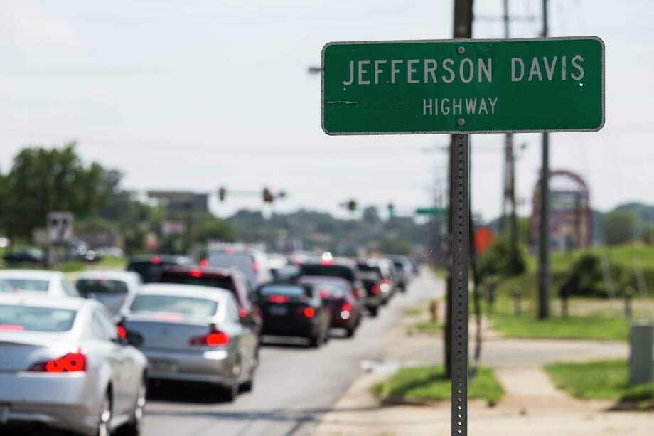 Jefferson Davis Highway in Woodbridge, Va. Photo: Washington Post Photo By Brittany Greeson / The Washington Post