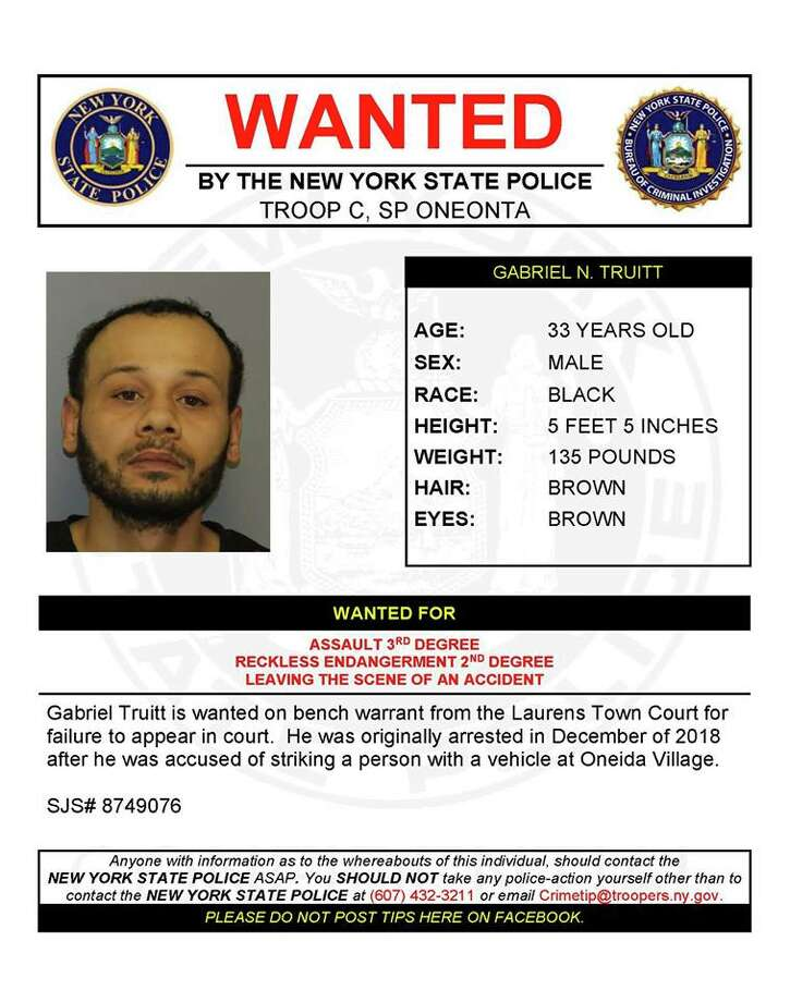 Gabriel N. Truitt Photo: New York State Police