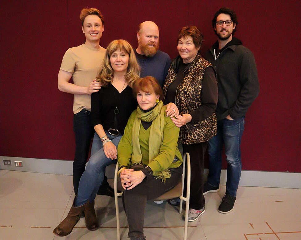 From left: David Gow, Elizabeth Aspenlieder, Micheal Toomey, Tina Packer, David Bertoldi, Annette Miller Photo by Aimee Ambriz