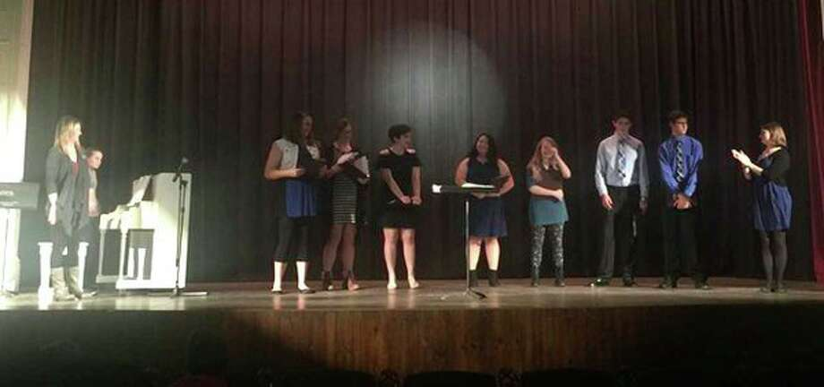 The Harbor Beach High SchoolChoir andBand held its spring concert May 8 in the school cafeteria. (Submitted Photo)