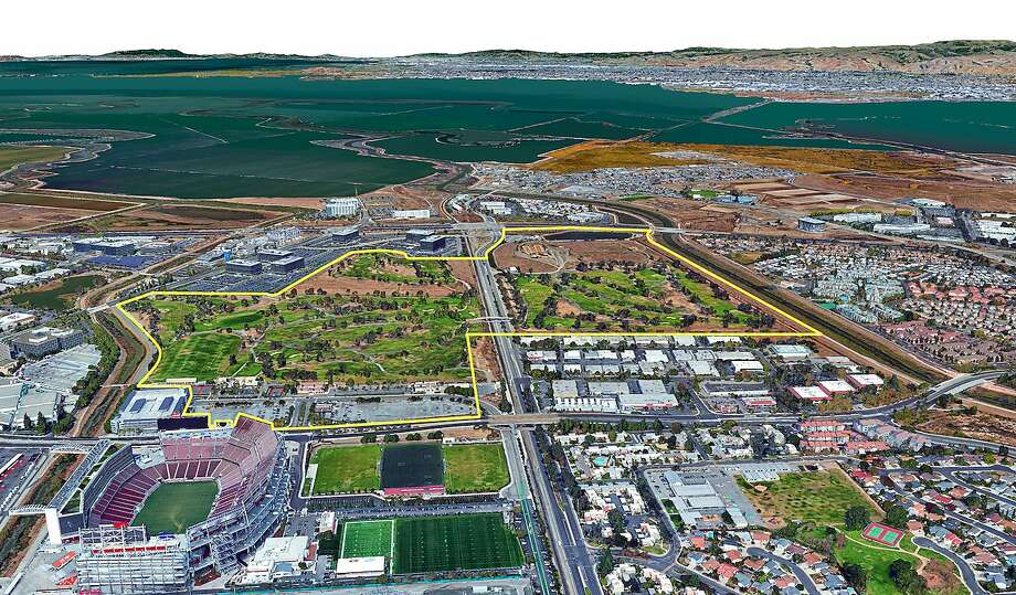 Related Santa Clara will replace a golf course near Levi's Stadium. Photo: Related