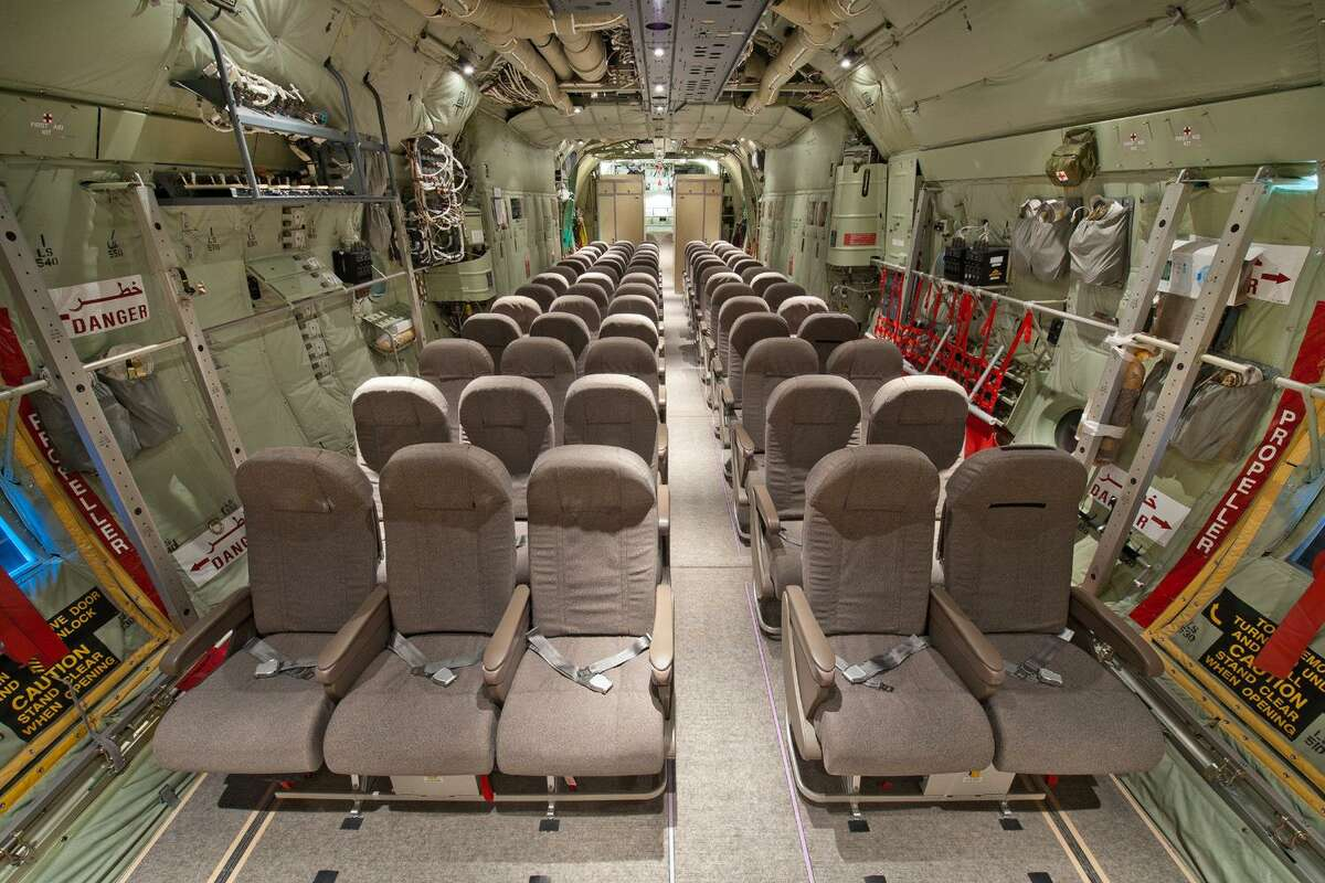 Knight Aerospace also makes VIP units to transport high-profile passengers and palletized seating systems, and provides upgrading and refurbishment services.