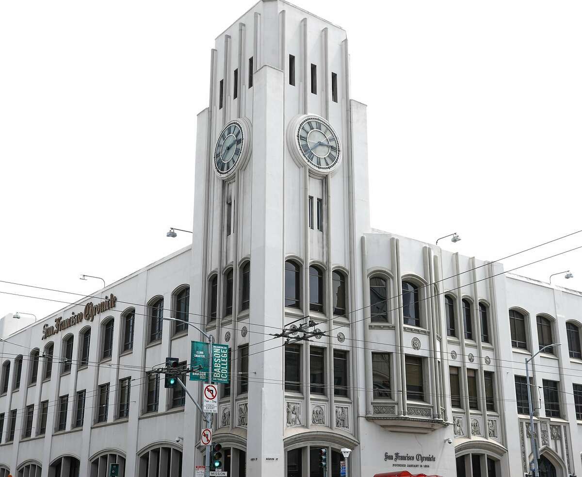 The Chronicle building at 901 Mission St. is seen on Thursday, May 24, 2018 in San Francisco, Calif.