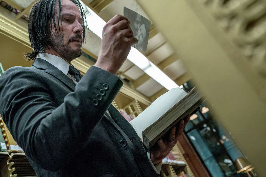 "Keanu Reeves plays a hit man with a bounty on his head in ""John Wick: Chapter 3 - Parabellum."" Photo: Niko Tavernise, Summit Entertainment / Summit Entertainment"