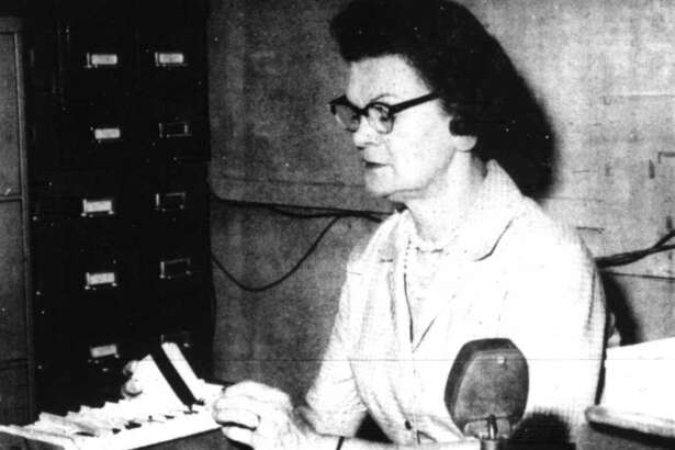 In 1964, Ina Redding served as the police dispatcher for the Conroe Police Department on the graveyard shift.
