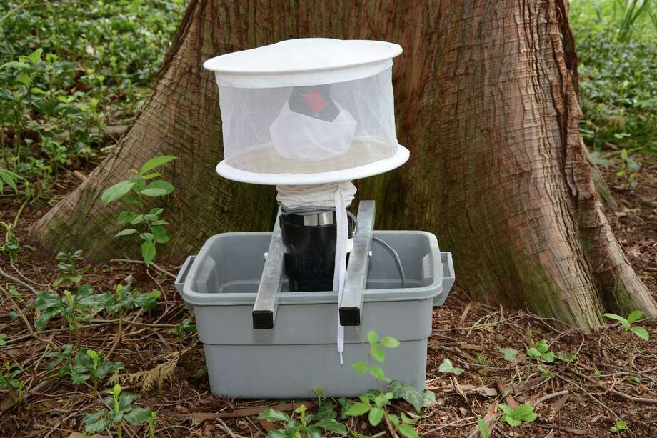 These are the various traps the Connecticut Agricultural Experiment Station uses to trap mosquitoes. A mosquito trapped in Shelton was found to be infected with Eastern Equine Encephalitis, state experts announced Sept. 4, 2019. It is the first mosquito to test positive for the illness in roughly 10 years. Photos courtesy of the Connecticut Agricultural Experiment Station. Photo: Contributed / Contributed