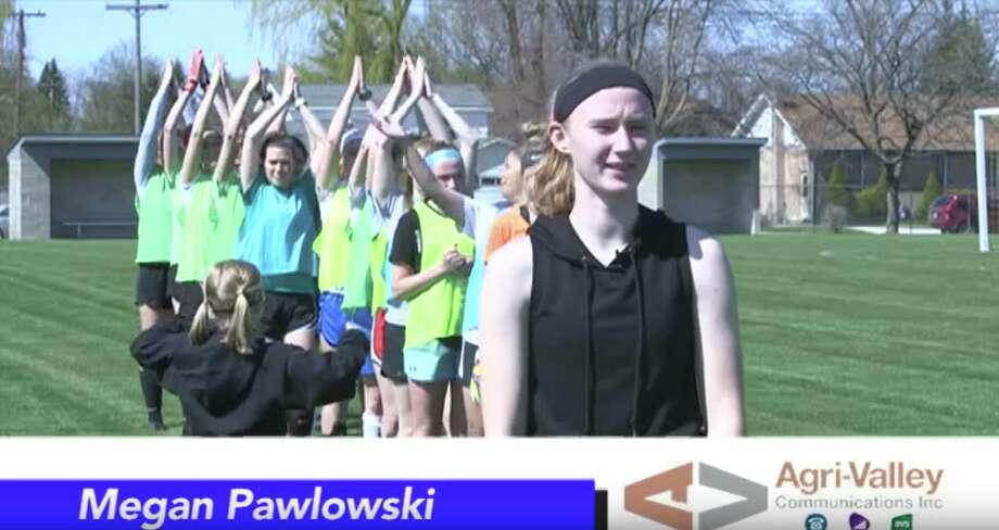Athlete of the Week, Megan Pawlowski Photo: Coulter Mitchell/For The Tribune