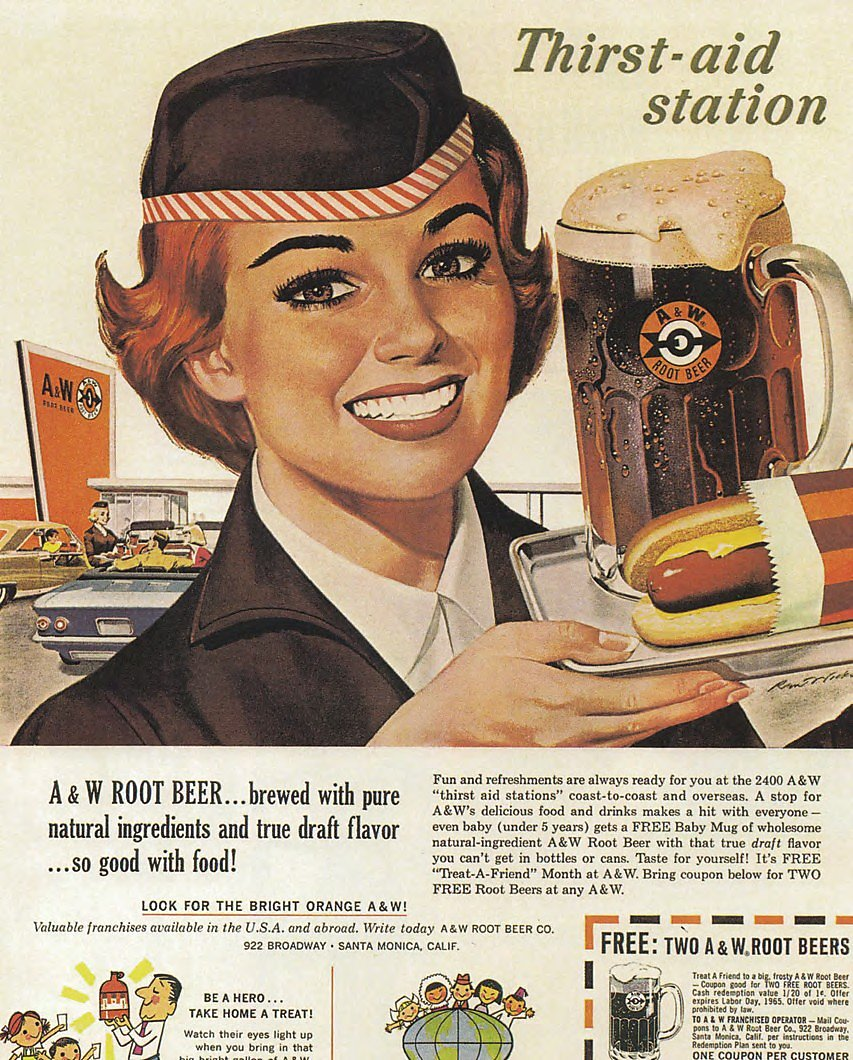 Float On: 100 Years of A&W in California - SFChronicle com