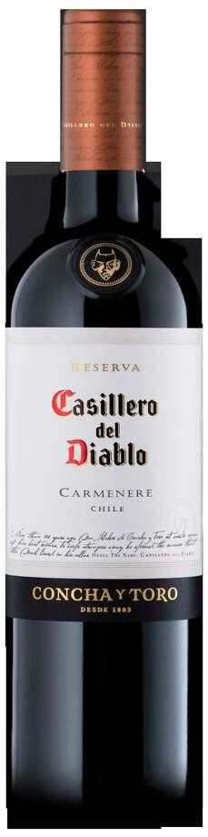 Casillero del Diablo carmenere. (Excelsior Wines)