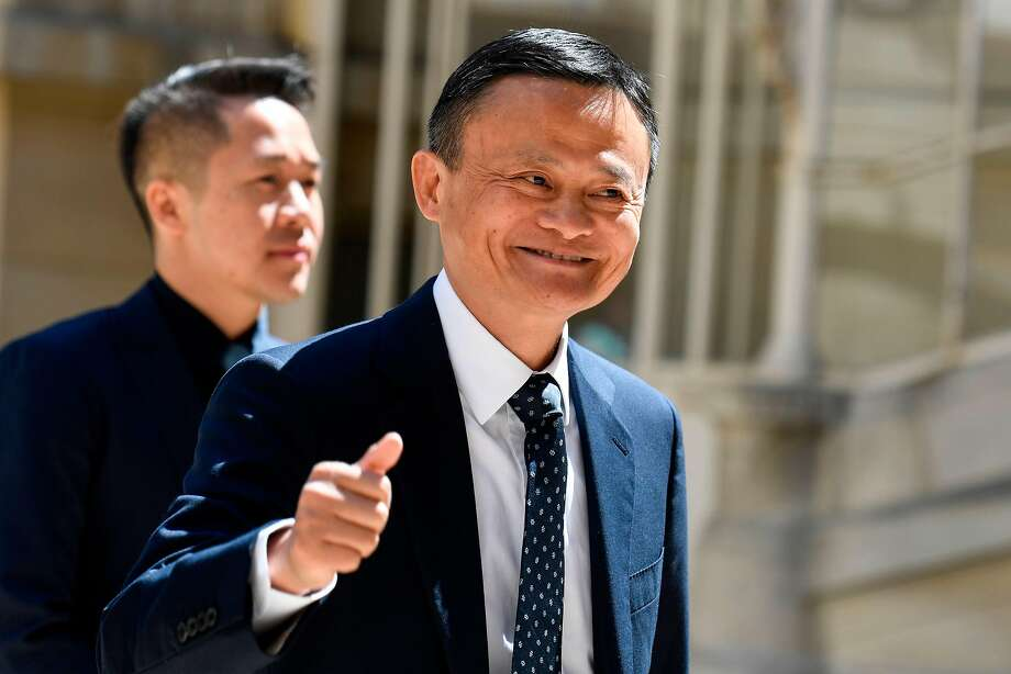 Jack Ma is chairman of China's internet giant Alibaba Group. Photo: Bertrand Guay / AFP / Getty Images